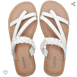 Shoes - New Strappy Slide Sandals
